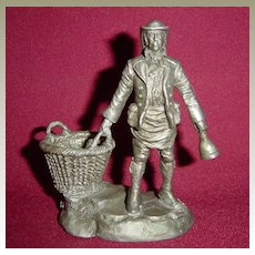 The Dustman from Franklin Mint Street Seller of Old London Town