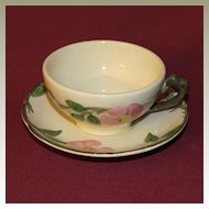 Franciscan Desert Rose Teacup and Saucer