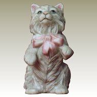Franklin Mint Cybis Curio Cabinet Cat