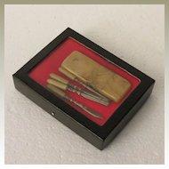 German Celluloid Mini Manicure Set