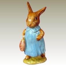 Beswick Beatrix Potter Mrs Flopsy Bunny Figurine