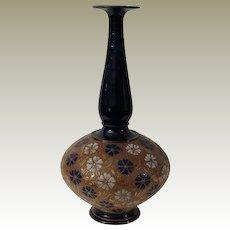 Doulton Slater's Patent Antique Vase, c 1900