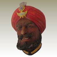 Legend Sikh Wall Mask Head