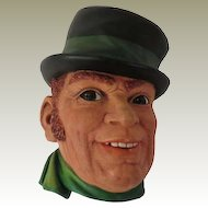 Bossons Paddy 1st Version Wall Mask Head Plaque