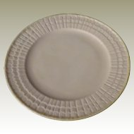 Belleek Limpet Yellow Salad Plate