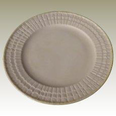 Belleek Limpet Yellow Salad Plate