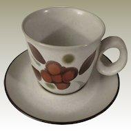 Noritake Folkstone Orinda Cup and Saucer