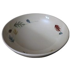 Franciscan Autumn Leaves Serving Bowl