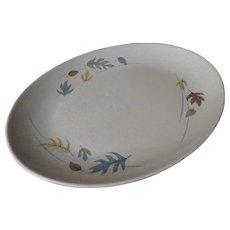 Franciscan Autumn Leaves Oval Platter
