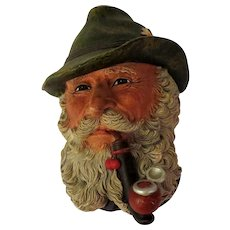 Bossons Tyrolean Wall Head Plaque