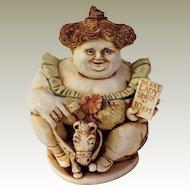 Harmony Kingdom Pavareata Circus Fat Lady Figurine Box