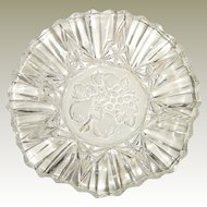 Federal Glass Pioneer Ruffled Glass Bowl