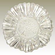Federal Glass Pioneer Ruffled Glass Bowl