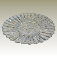 Federal Glass Pioneer Glass Salad Plate