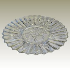Federal Glass Pioneer Glass Salad Plate