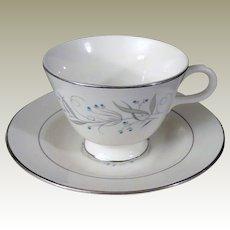Homer Laughlin Celeste Teacup and Saucer