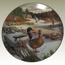 The Mallard Collector Plate by Bart Jerner