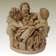 Harmony Kingdom Antarctic Antics Treasure Jest Box Figurine