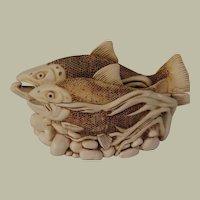 Harmony Kingdom Large Treasure Jest Fish Box Figurine Journey Home