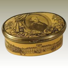 Bilston and Battersea Joseph Haydn Enamel Box for Cartier