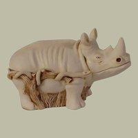 Harmony Kingdom Horn A' Plenty Large Treasure Jest Box Figurine