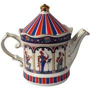 Sadler Edwardian Entertainments Band Stand Teapot