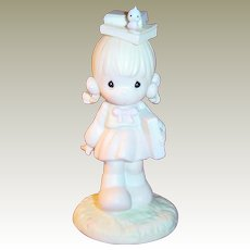 Precious Moments Samuel Butcher Porcelain Figurine September 110086