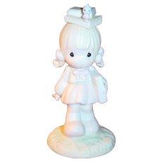 Precious Moments Samuel Butcher Porcelain Figurine September 110086