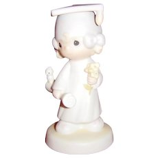 Precious Moments Jonathan & David The Lord Bless You and Keep You Figurine E-4721