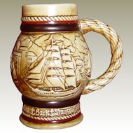 Avon Mini Stein of Ships by Ceramarte