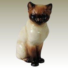 Goebel Siamese or Burmese Cat Figurine from West Germany
