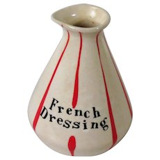 Holt Howard French Dressing Jar without Flat Head Pixie Stopper