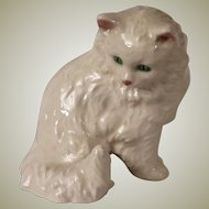 Goebel White Persian Cat Figurine from West Germany c 1960-72