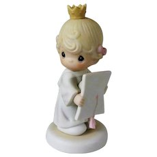 Samuel Butcher Precious Moments Congratulations Princess Figurine