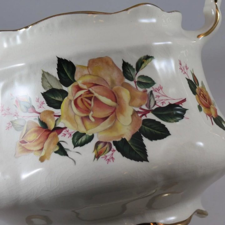 Lovely Arthur Wood Lustre Vase We Take Customers As Our Gods Pottery