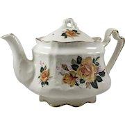 Arthur Wood Donegal Yellow Roses English Teapot