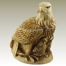 Harmony Kingdom Liberty and Justice Small Treasure Jest Box Figurine with Eagles