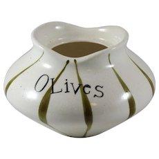 Holt Howard Base to Pixieware Olives Condiment Jar