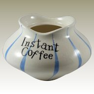 Holt Howard Base to Pixieware Instant Coffee Jar