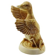 Harmony Kingdom Waddles the Duck Treasure Jest NetsUKe