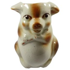 Occupied Japan Fat Little Pig Planter or Holder