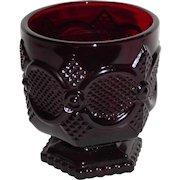 Avon 1876 Cape Cod Collection Ruby Glass High Ball Tumbler