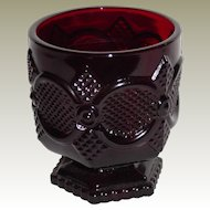 Avon 1876 Cape Cod Collection Ruby Glass High Ball Tumbler