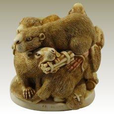 Harmony Kingdom Damnable Plot Treasure Jest Box Figurine