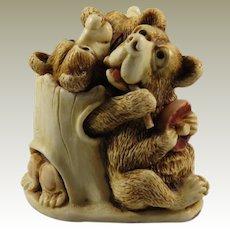 Harmony Kingdom Oktobearfest Treasure Jest Box Figurine Special Event Piece
