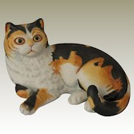 Spellbound Calico Cat by Eric Tenney for Franklin Porcelain