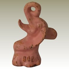 Republican GOP Pink Elephant Cast Iron Bottle Opener