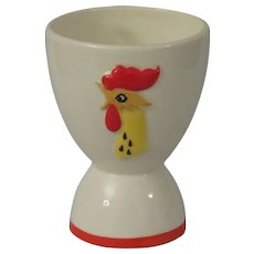 Holt Howard Coq Rouge Red Rooster Double Egg Cup