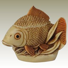 Harmony Kingdom Midas Touch Treasure Jest Box Figurine with Gold Fish