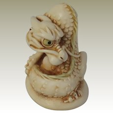 Georgie the Dragon Harmony Kingdom NetsUKe Treasure Jest Figurine